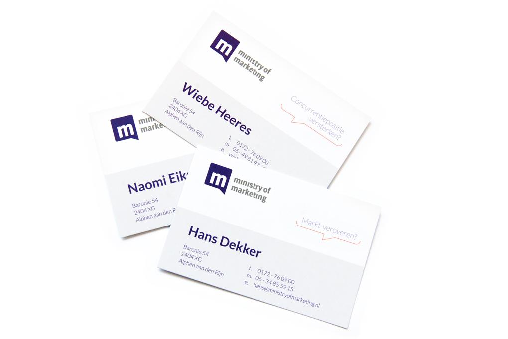 Visitekaartjes businesscards